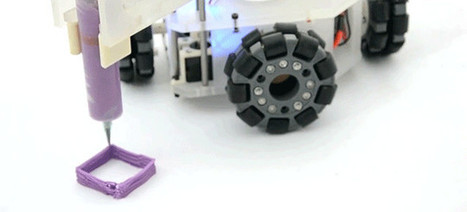 A Robotic 3D Printer Could Print Anything, Anywhere It Wants | [In] Morph - Logic | Scoop.it
