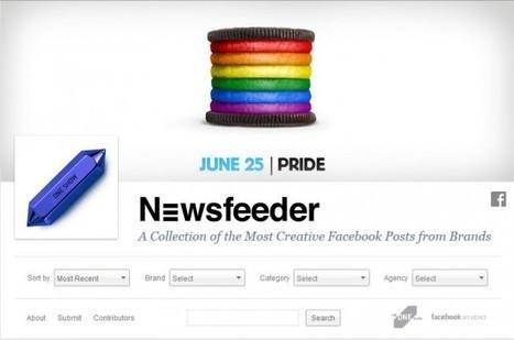 Newsfeeder : les meilleures campagnes Facebook sur une seule page
