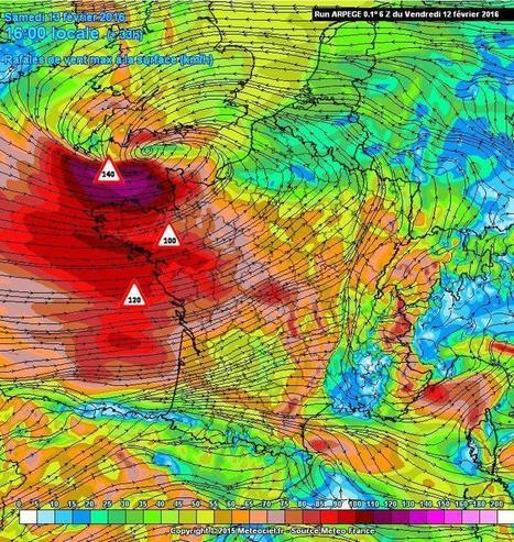 Avis de fort coup de vent à tempête sur l'Ouest de la France ce samedi   Ma Bretagne   Scoop.it