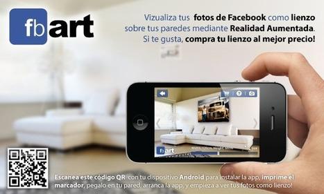 App Free: fbART, tus fotografías de Facebook en Realidad Aumentada | REALIDAD AUMENTADA Y ENSEÑANZA 3.0 - AUGMENTED REALITY AND TEACHING 3.0 | Scoop.it
