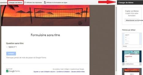 Les formulaires Google sont désormais personnalisables - #Arobasenet | Ma veille d'ANT | Scoop.it