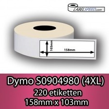 mannen 10% op Dymo 4XL S0904980 Compatibel Etiketten   Dymo compatible labels   Scoop.it