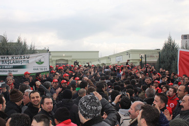 Occupy BOSCH: Birlesik Metal-Is [United Metal Workers] Union wins a historic victory in Turkey by Orsan Senalp | Another World Now! | Scoop.it
