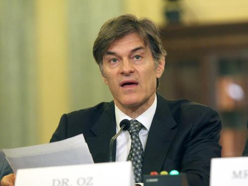 Dr. Oz scolded at hearing on weight loss scams - US News