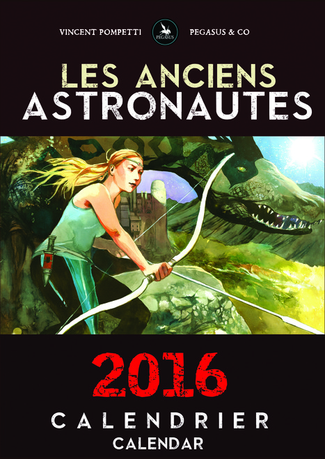 Calendrier 2016 encore disponible ! | Bande dessinée et illustrations | Scoop.it