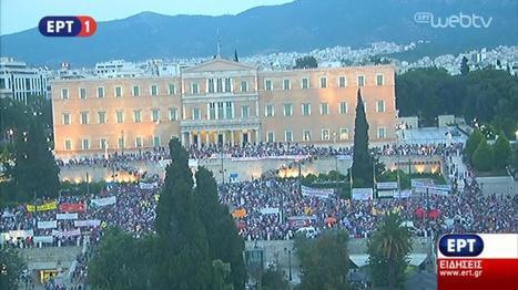 Los griegos apoyan a su Gobierno en la calle | Política & Rock'n'Roll | Scoop.it