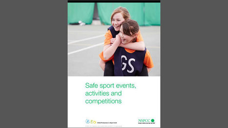 Safe sport events, activities and competitions | Children In Law | Scoop.it