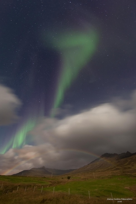 Rare Moonbow in Iceland's East Fjords | Oceans and Wildlife | Scoop.it