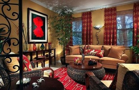 Red Accent for Modern Home Interior Decor | 2012 Interior Design, Living Room Ideas, Home Design | Scoop.it