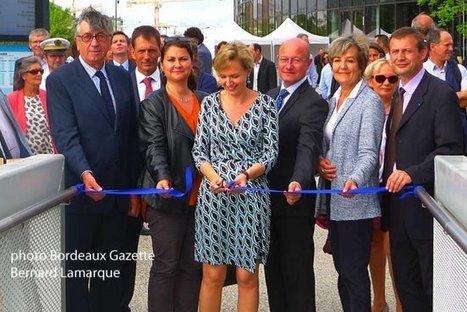 Inauguration du ponton de la Cité du Vin   Bordeaux Gazette   Scoop.it