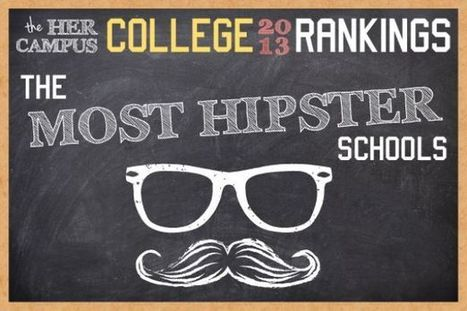 The Most Hipster Schools | Winning The Internet | Scoop.it