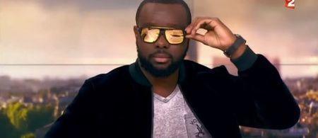 Maître Gims enlève ses lunettes dans le JT de Laurent Delahousse... Le Zapping people (VIDEO)   Music and nothing else !   Scoop.it
