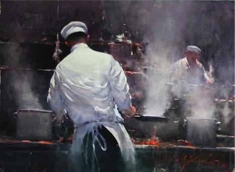 Joseph Zbukvic, Australian master watercolour painter | watercolor | Scoop.it