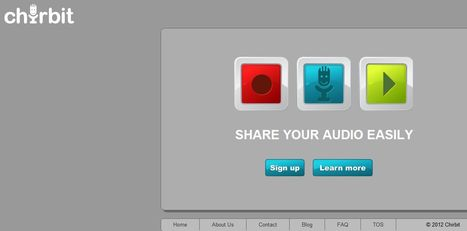 Chirbit - Record, Upload and Share Audio Easily - Social Audio | Tastets de TIC I TAC | Scoop.it