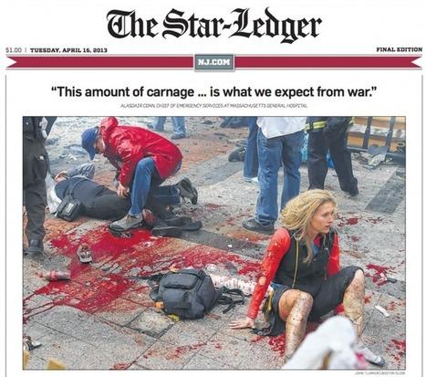 Arrêt sur images - Le Daily News retouche une victime de Boston | Photographie | Scoop.it