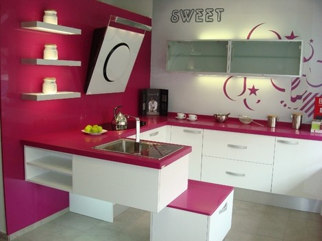 Cocinas en color, una idea práctica y original | Decoración e Interiorismo | Diseño de interiores para mi casa | Scoop.it