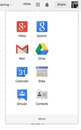 HELP! How to use the new Google Apps Launcher | 21st Century Concepts-Technology in the Classroom | Scoop.it