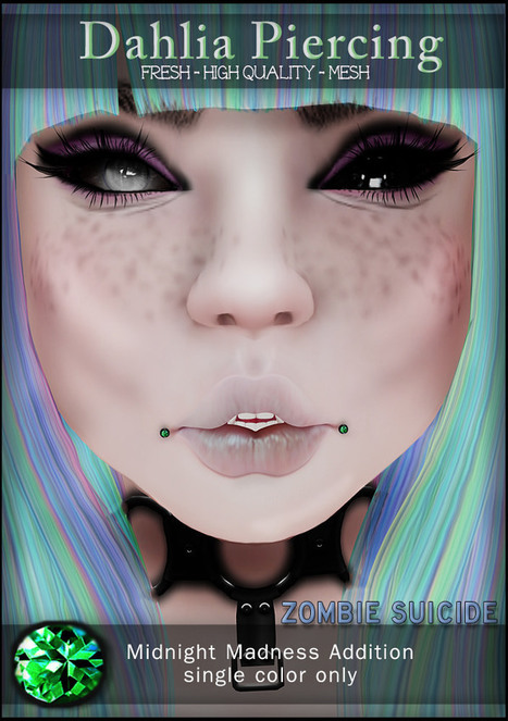 zs Dahlia piercing pic Midnight madness | 亗 Second Life Freebies Addiction & More 亗 | Scoop.it