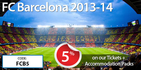 5% discount on our Ticket + Accommodation packs | FC Barcelona News | Scoop.it