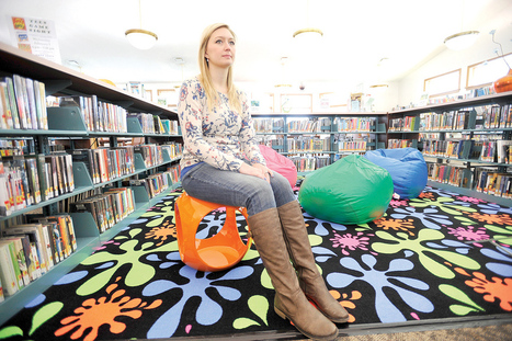 Librarian putting new focus on teen readers | innovative libraries | Scoop.it