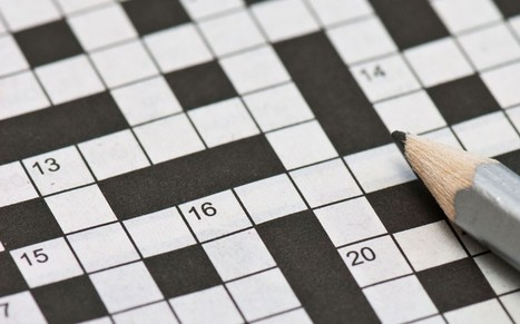 Scientists identify key mental qualities needed for cracking cryptic crosswords | Strange days indeed... | Scoop.it