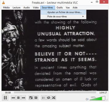 Comment lire un fichier de sous-titres avec VLC ? | TIC et TICE mais... en français | Scoop.it