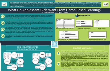What Do Adolescent Girls Want From Game-Based Learning? | Games, gaming and gamification in Higher Education | Scoop.it