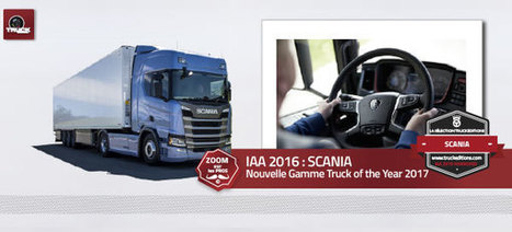 IAA 2016 SCANIA - truck Editions | Truckeditions | Scoop.it