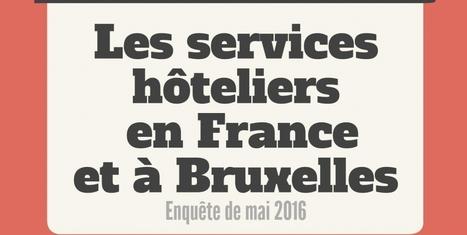Les services hôteliers en France et à Bruxelles | Médias sociaux et tourisme | Scoop.it