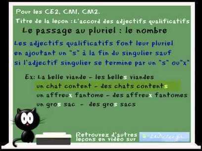 cours de français, de grammaire et d'orthographe en vidéo | Ideas for class | Scoop.it