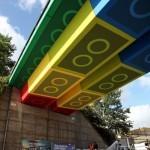 Street Artist 'Megx' Creates Giant Lego Bridge in Germany | Colossal | Urban Design | Scoop.it