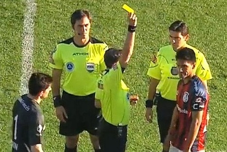 San Lorenzo captain booked BEFORE kick-off for bringing dog onto pitch | Soccer | Scoop.it