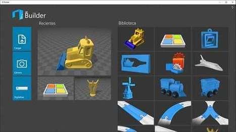 3D Builder – Aplicaciones de Windows en Microsoft Store | Teaching Art in the Digital Era | Scoop.it