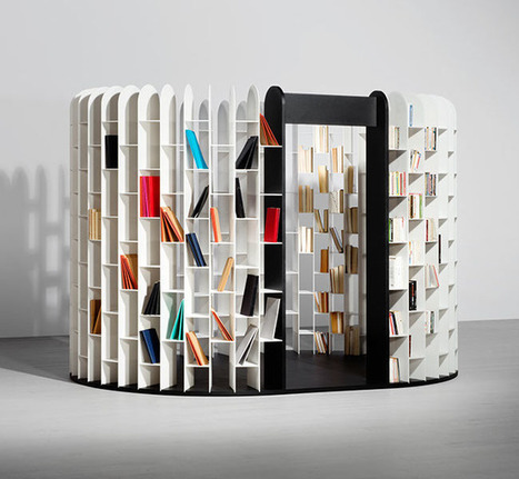 All-Encompassing Bookshelf Allows Readers to Be Surrounded by Their Favorite Books | Le It e Amo ✪ | Scoop.it