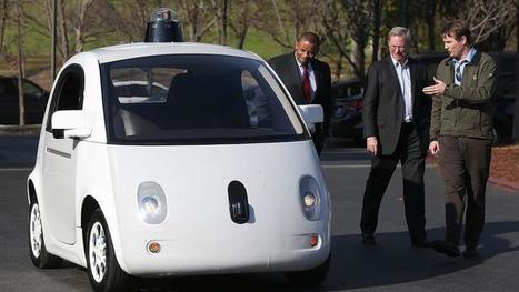 La Google Car sans conducteur circulera sur les routes californiennes cet été | Technologies. | Scoop.it