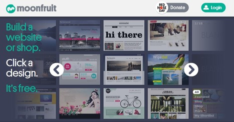 Free Website Builder - Moonfruit - Total website design control | Time to Learn | Scoop.it