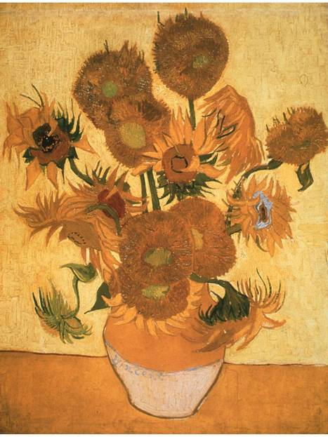 Sunflowers wilt: Van Gogh's masterpiece is slowly turning brown as a result of exposure to LED lighting | Visual Culture and Communication | Scoop.it
