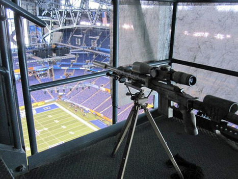 These Pictures Of A Super Bowl Sniper's Nest Are Making The Rounds Today | Ad Vitam Basketball | Scoop.it