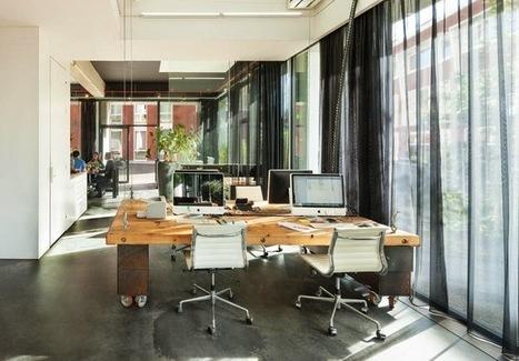 No final de cada dia este escritório desaparece. | Design | Scoop.it