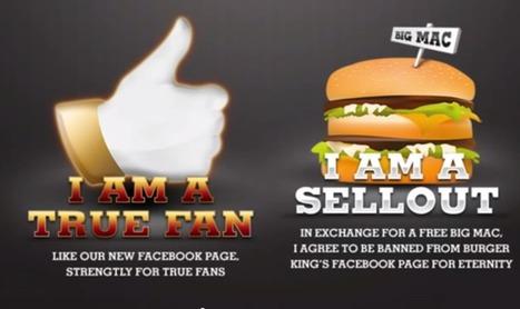 Burger King: perder 30.000 fans puede ser la mejor opción! | Marketing del Contacto | Scoop.it