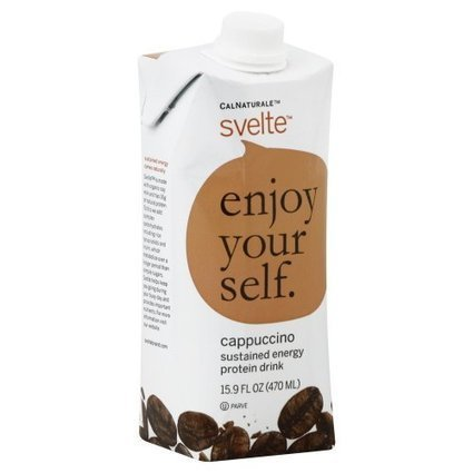 Best rates of Calnaturale Svelte Cappuccino Protein Beverage 15.9 OZ (Pack of 2) | Best Energy Drinks Daily | Scoop.it
