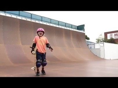 This Nine-Year-Old Girl Nailed Her Skateboarding Stunt Like a Boss - Jezebel | Surfing Culture | Scoop.it