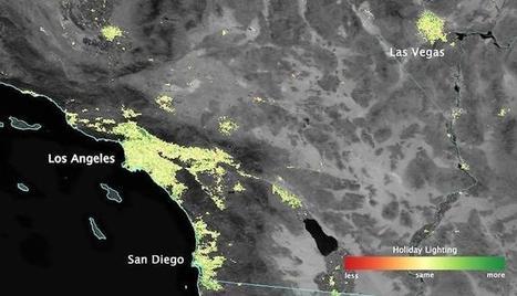 Nuestras luces navideñas vistas desde el espacio por NASA | #GoogleEarth | Scoop.it