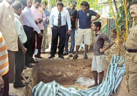 Skeletal remains of Dutch officer unearthed in Galle Fort | Archaeology News | Scoop.it