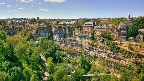 Bozouls : des maisons au-dessus d'un canyon   I love it !   Scoop.it
