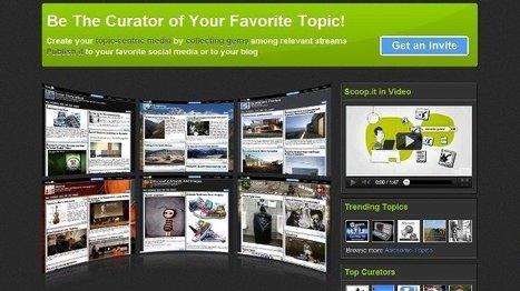 A fondo: Scoop.it, un excelente servicio de curación de contenidos | Tecnologia Instruccional | Scoop.it