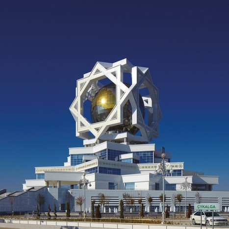 The Strange and Beautiful Buildings of Ashgabat, Turkmenistan     When On Earth - For People Who Love Travel   Human Interest   Scoop.it