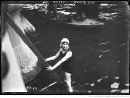 Traverser Paris à la nage, le 27 juillet… 1912 - Blog Lecteurs de la Bibliothèque nationale de France - BnF | Auprès de nos Racines - Généalogie | Scoop.it