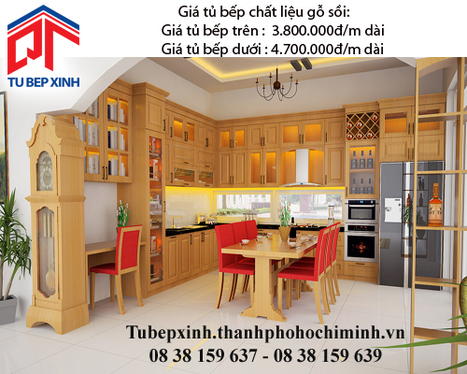 Tủ bếp gỗ sối nhà anh Phú -Bảo Lộc - tu-bep-go-doi-nha-anh-Phu---bao-loc - tu van du hoc uy tin|du hoc gia re - | TỦ BẾP MFC - GIÁ TỦ BẾP MFC | Scoop.it