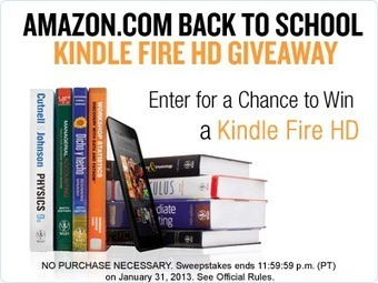 Amazon Back to School Kindle Fire HD Giveaway | Life's A Bargain | Scoop.it